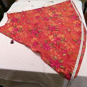 Moda International ladies silk skirt